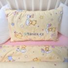 Stanex Metráž bavlna medvídek s hvězdičkami béžový (LS316)