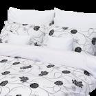 Stanex Metráž bavlna Astra černo-bílá (LS147)