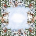 Stanex Ubrus bavlněný Winter 144x180