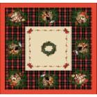 Stanex Ubrus bavlněný Vánoce 144x144