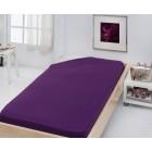 Stanex Jersey napínací prostěradlo fialové 180x200