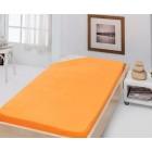 Stanex Jersey napínací prostěradlo oranžové 180x200